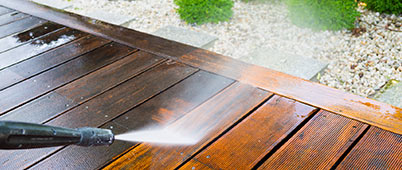 High & Low Pressure Exterior Cleaning